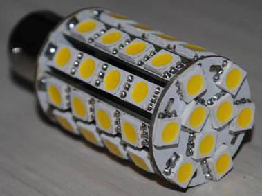 Typical LED Masthead light using 49 SMD5050 LEDs