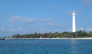 Amedee Island and Lighthouse