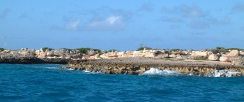 Anguillita Island, at the west end of Anguilla
