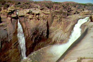 Augrabies Falls on the Orange River, S Africa