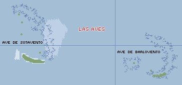 There are actually 2 Aves archipelagos
