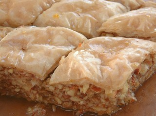 Baklava is a real treat!