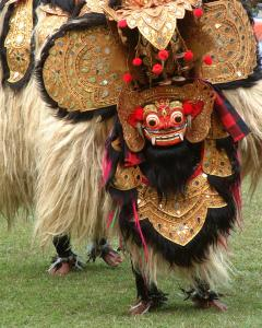The popular Barong dance