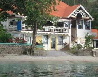 Typical gingerbread house, Bequia