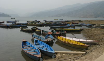 Fewa Lake, next to Pokhara