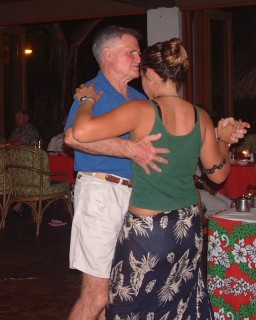 Showing Amanda ballroom dancing