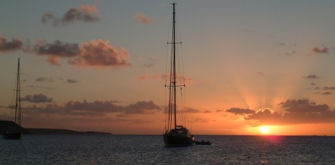 Sunset in Crocus Bay, Anguilla