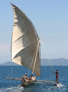 Local small sailing Dhow