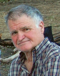 Jon's dad, Colin, in the Australian mountains