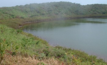 El Junco is the largest fresh water natural reservoir in the Galapagos