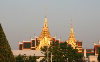 Evening light on the Royal Palace, Bangkok
