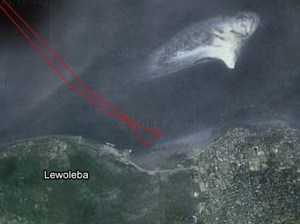 Our Lewoleba anchorage