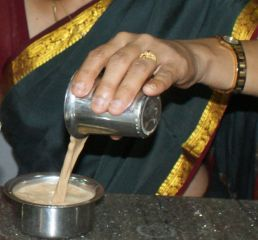 S. Indian filter coffee for tiffen