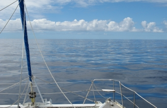 A glassy sea en route to Madagascar