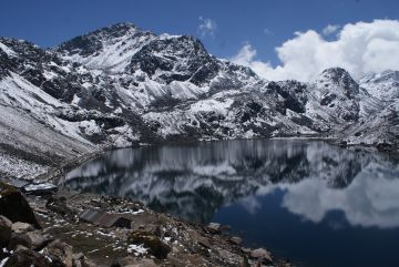 We trekked around Gosainkund Lake, in northern Nepal