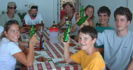 Lunch in Grenville on our Grenada Tour