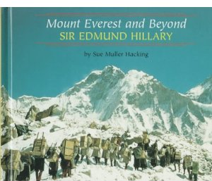 An autobiography of Sir Edmund Hillary was my first book pubication.