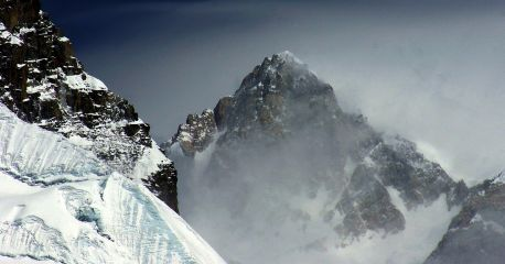 World's thrid highest maountain: Five sacred Peaks of  Kanchendzonga,  8598m/28,373', Sikkim,. India