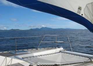 Land HO! Mayotte, after 9 days at sea