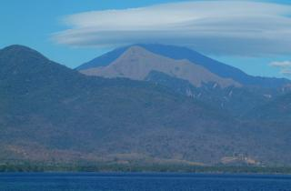 Volcanoes stud the sky in W Nusa Tenggara