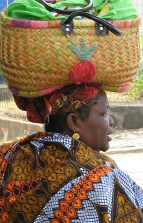 Beautiful Mahorais woman, Mayotte