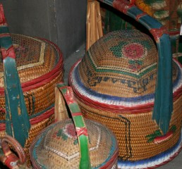 Beautiful Malay basketwork