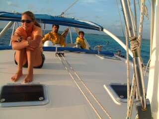 After our overnight passage to Los Roques
