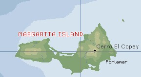 Margarita Island map