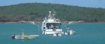 The Margaret Bay lobster boat