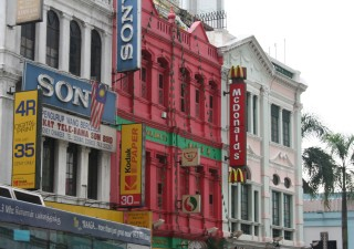 Old buildings, new businesses in Kuala Lumpur