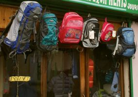 You can buy your trekking gear inDarjeeling, West bengal, India