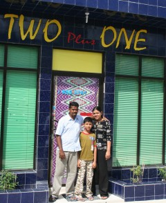 Mulla & his family & store, Feydoo