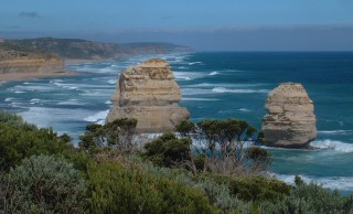Fabulous sandsonte structures are highlights of he Great Ocean Road