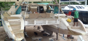 Refit: Ocelot with New Stern Steps