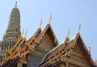 Gilded gables of the Royal Palace, Bangkok