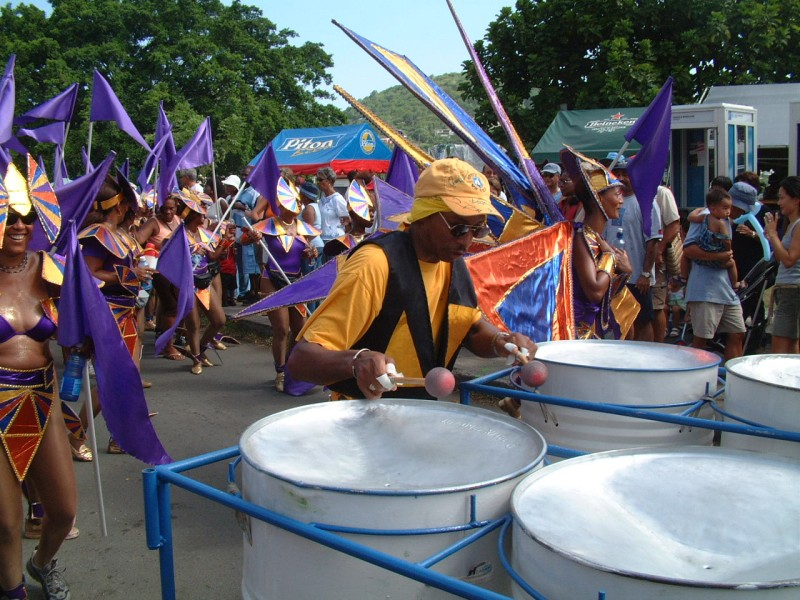 performance at watch live steel pan people rocky festival the bands mountain music