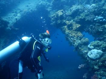 Rainier dives the SS Liberty Wreck Bali