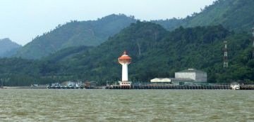 Non-functioning lighthouse, off Ranong