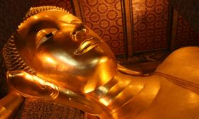 Head of the Reclining Buddha, Bangkok