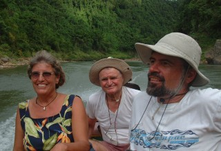 Boat trip up the Navua River