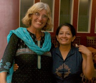 Sue and Shantha, Chennai
