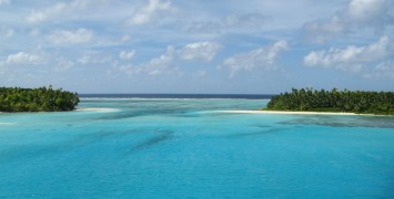 The sandbank between Takamaka & Fouquet