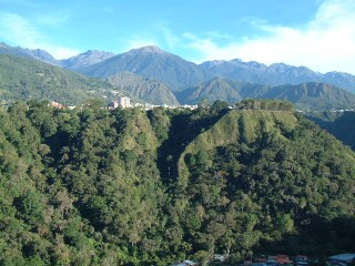 Merida, at 6000 feet high, but the bottom of the teleferico into the Andes