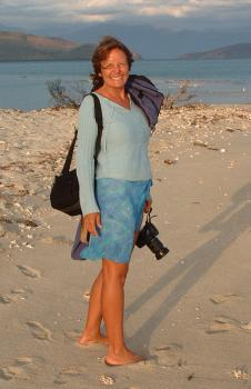 My good buddy Tina, from Scud, on Tenia Is., New Caledonia 2005