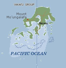 Click to see a larger-scale map of the Vava'u Group