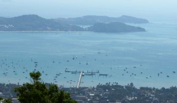 Bird's eye view of Au Chalong, Phuket