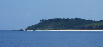 SW corner of Rutland Is.Andaman Islands.  Great beach & forest
