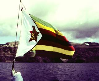 Sabi Star flew the new Zimbabwe Flag, 1981